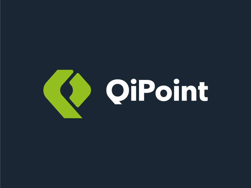 QiPoint branding corporate identity typography monogram icon logo