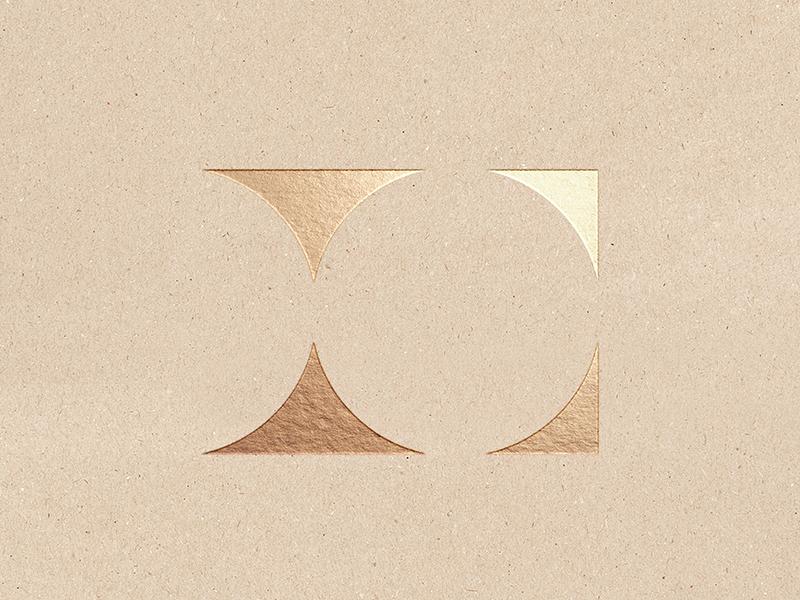 Psychotherapist brand gradient wave morphing icon symbol tech app corporate identity branding logo