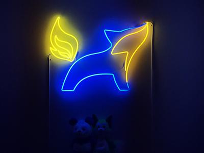 Lightwell Neon Logo