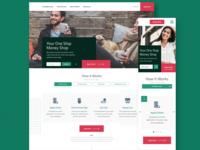 Loan Services Homepage | Desktop & Mobile