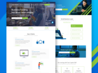 FastCapital360 Loan Services Concept