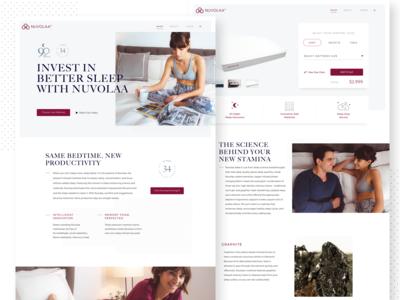 Nuvolaa eCommerce Site Design
