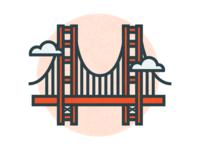 Travel Icons Series - San Francsico