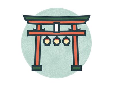 Travel Icons Series - Tokyo stroke city icon travel tokyo