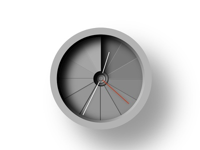 4th Dimension Clock clock dailycssimages css