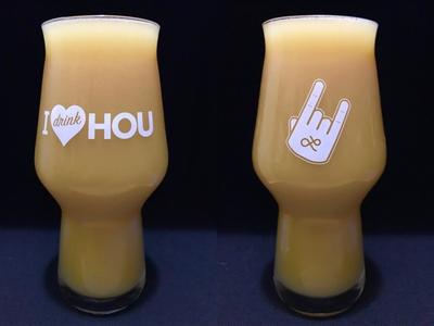 I drink HOU