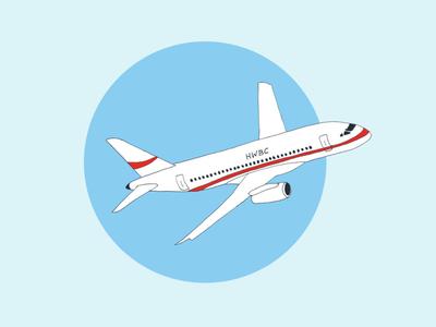 ART EVERY DAY NUMBER 405 / ILLUSTRATION / FLIGHT