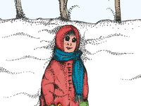 ART EVERY DAY NUMBER 438 / ILLUSTRATION / SNOW