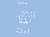 ART EVERY DAY NUMBER 464 / ILLUSTRATION / THE RABBIT
