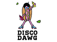 Dribbble's Disco Dawg Debut