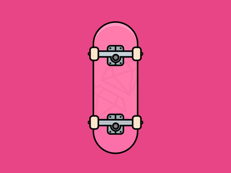 Skate Szn debut daily doodle skate skateboard illustrator flat design doodle digital design vector vector illustration illustration