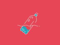 Monoline Floating Bottle