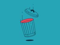 Monoline trash