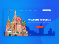 Design website travel Company Prontotour
