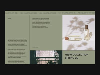 Green Issue 65 webdesig ux web e-commerce minimaldesign ui green layout minimal