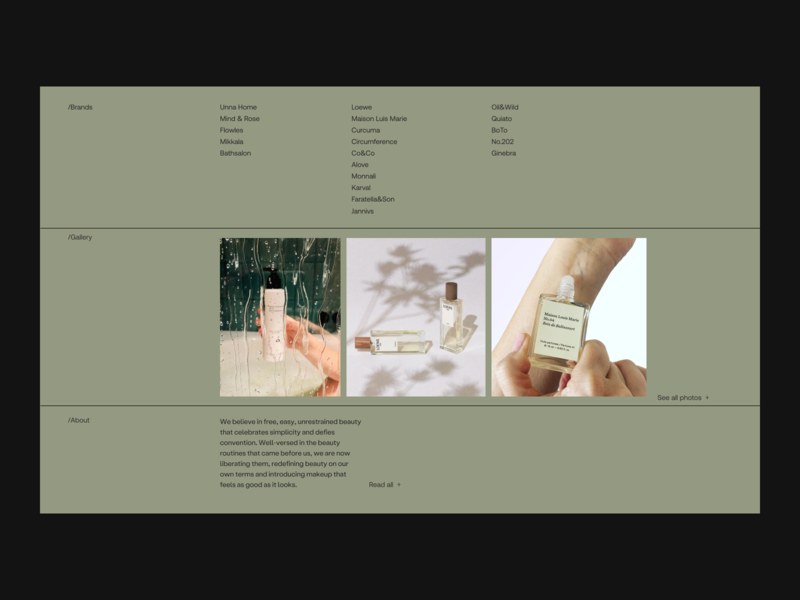 Index Issue 66 minimalist minimaldesign ecommerce ux green index minimal ui webdesign