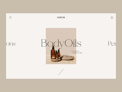 BodyOil Issue 69 typography pink e-commerce ecommence minimaldesign minimal ui webdesign web ux