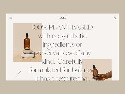 Everyday Oil Issue 70 product design pink productpage typography minimal landingpage e-commerce ecommence layout minimaldesign webdesign web ux