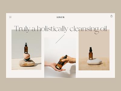 Oil Issue 71 product page ui webdesign landingpage layout ecommence typography minimaldesign minimal web ux