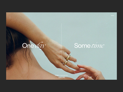 Oneday Sometime Issue 80 webdesign typography minimaldesign layout minimal ui web ux
