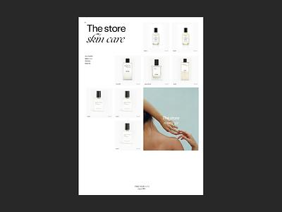 The store Issue 82 e-commerce typography layout minimal ui web webdesign shop ecommerce ux