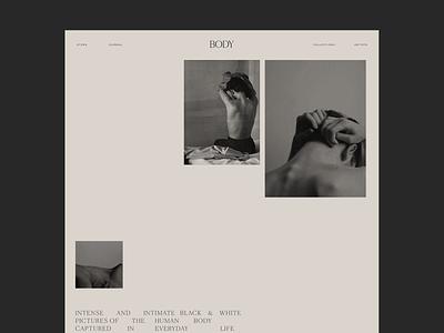 Body collection Issue 85 layout typography minimaldesign minimal ui webdesign web ux