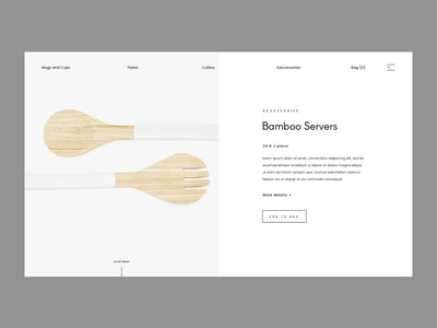 Minimal Product Page Issue 12
