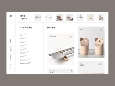Minimal Issue 22 design ecommence typography grey minimal ux layout minimaldesign webdesign web ui