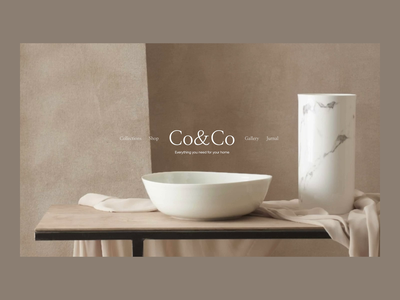 CoCo Issue 49 layout typography design animation ecommence minimaldesign minimal ui webdesign web ux