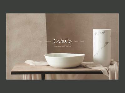 CoCo Issue 49 layout typography design animation ecommence minimaldesign minimal ui webdesign web ux