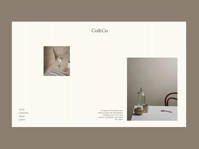 CoCo Minimal Issue 52 animation layout minimaldesign minimal ui webdesign web ux