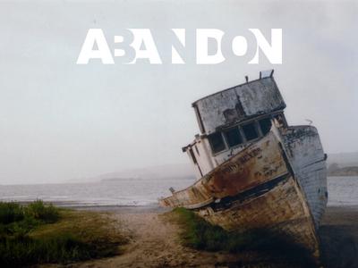 Abandon Graphic