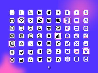 Magicons illustration ui design icon design iconography icon set icon