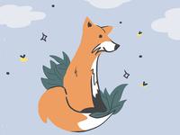 fox at twilight