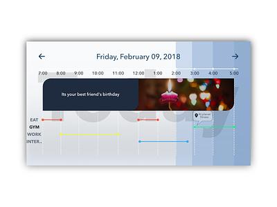#dailyui #071 schedule daily ui 071 affinity designer