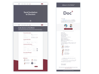 Docmatter Form Page and Email Notification Page