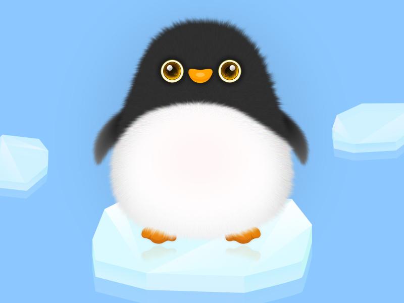 The Penguin illustration design