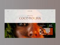 Herbs Website Concept Design