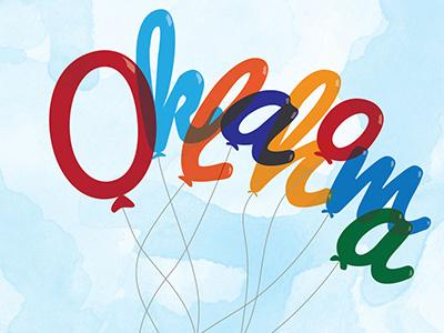 Oklahoma Balloons janenguyen janendesign okjane watercolor whimsical fun balloons illustration oklahoma