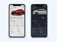 Dark or light theme? [ Car App Concept ]