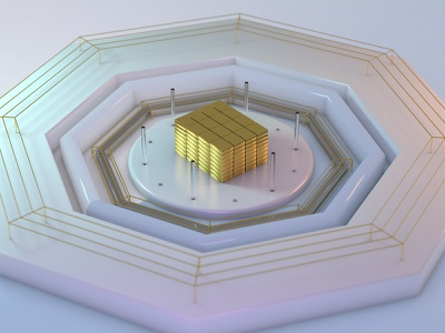 Gold Bars cinema4dart cinema4d 3d modeling 3d artist 3d art 4k render 3d