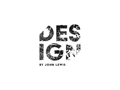 DESIGN by John Lewis #2 illustrator type typegraphy logo type icon branding brand logo