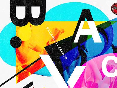 Bacardi X - Poster poster music bacardi