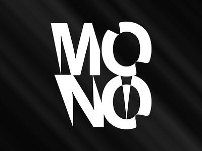 Mono - Logo illustrator typography type logo type logo