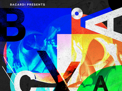 Bacardi X - Poster 2 poster music bacardi