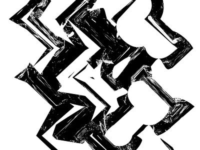 Mono - Poster (1/6) poster glitch type typography