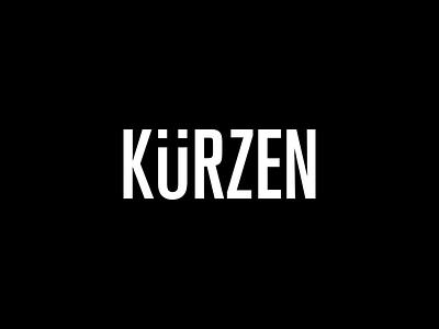 Kurzen - 1 typography type logo type logo