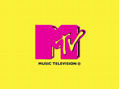 MTV - Ident [#1] 3d 2d ident animation logo mtv