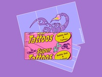 Super Tattoos Gum