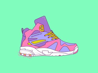 Light Up Sneakers LA GEAR